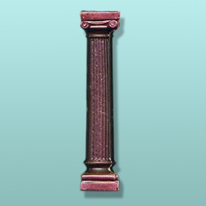 Chocolate Grecian Column Party Favor