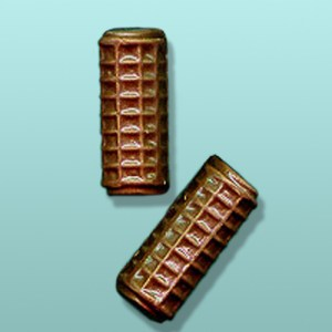 2 pc. Chocolate Hair Rollers Party Favor
