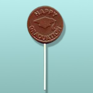 Chocolate Happy Graduation Lolly