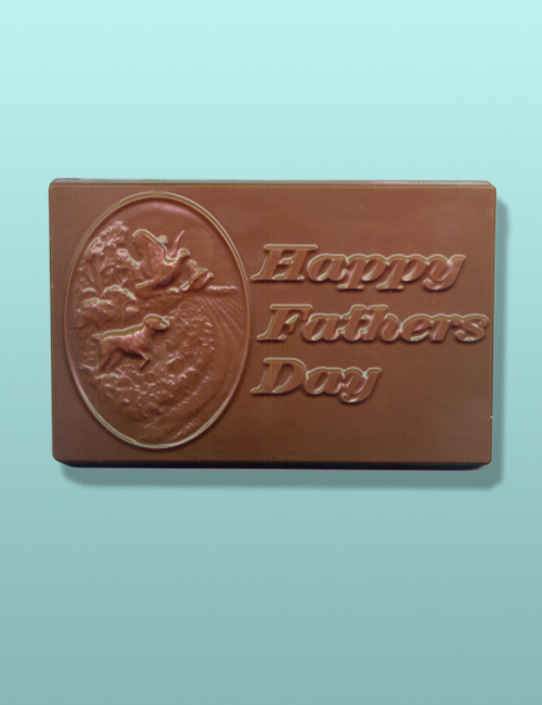 Chocolate Happy Fathers Day Plaque II