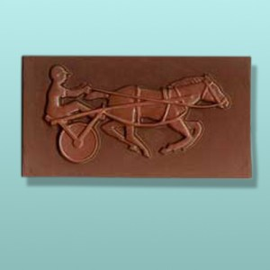 Chocolate Harness Racing Plaque