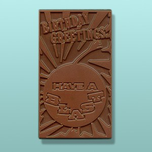 Chocolate Have A Blast Birthday Card
