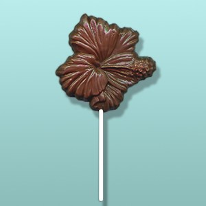 Chocolate Hibiscus Flower Favor II