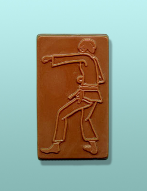 Chocolate Martial Arts Karate Punch Favor