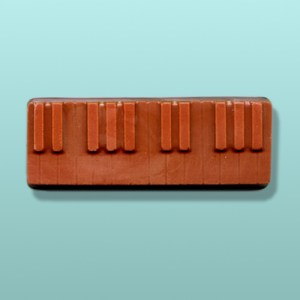 Chocolate Piano Small Keyboard