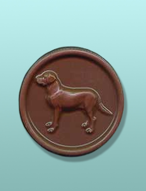 Chocolate Labrador Retriever Medallion II
