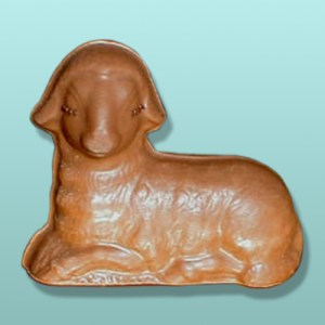 3D Chocolate Easter Lamb