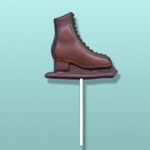 Chocolate Figure Skating Party Favor
