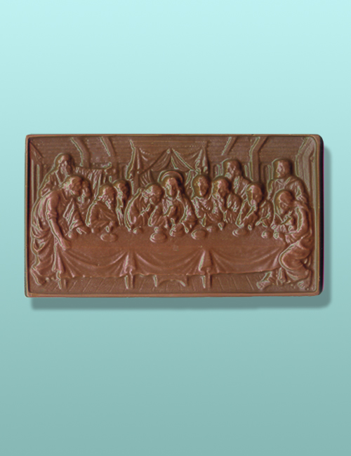 Chocolate Last Supper Plaque