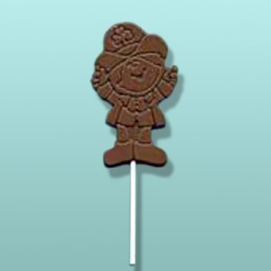Chocolate Leprechaun Lolly Favor