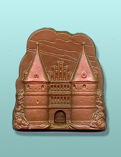 Chocolate Large Castle Plaque