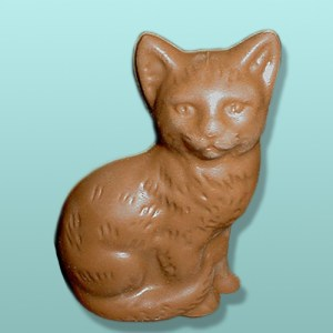 3D Chocolate Cool Cat Large