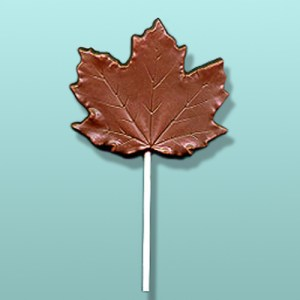 Chocolate Maple Leaf Large Party Favor