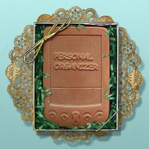 Chocolate Personal Organizer Favor