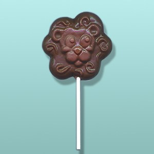 Chocolate Lion Face III Party Favor