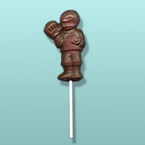 Chocolate Little League Baseball Player Favor