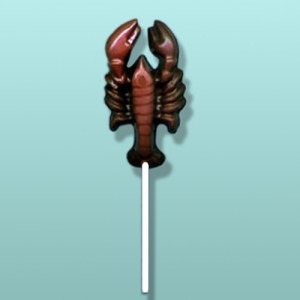Chocolate Lobster Lolly II