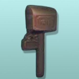 Chocolate Rural Mail Box Party Favor