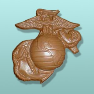 Chocolate Marine X-Large Emblem