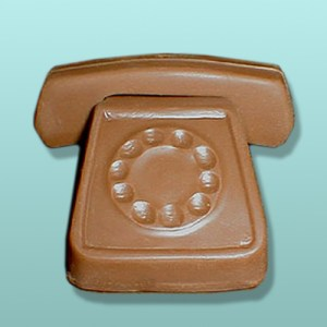 3D Chocolate Desk Small Telephone