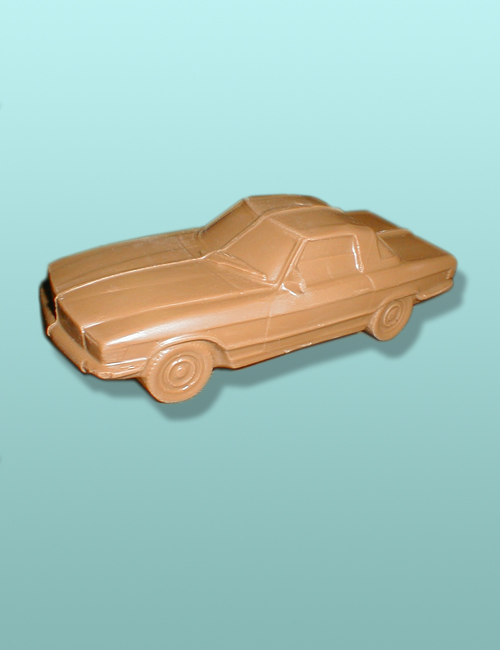 3D Chocolate Sedan Car II