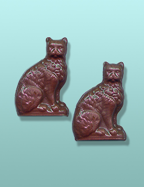 2 pc. Chocolate Cat Mini Favor