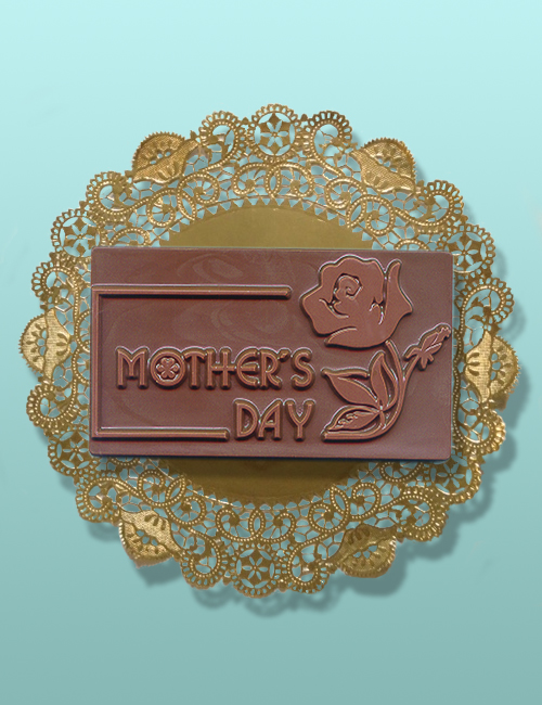 Chocolate Mother's Day Rose Plaque