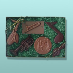 6 pc. Chocolate Musical Instrument Gift Set I
