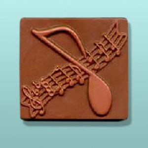 Chocolate Music Plaque Gift