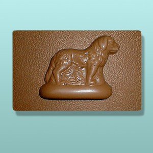 Newfoundland Dog Chocolate Plaque