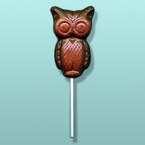 Chocolate Hoot Owl Party Favor