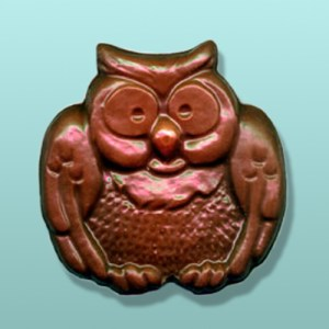 Chocolate Chubby Owl Party Favor