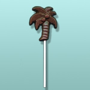Chocolate Palm Tree I Lolly