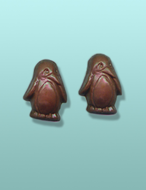 2 pc. Chocolate Penguin Twins Favor