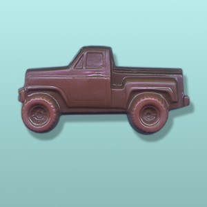 Chocolate Pickup Four Wheeler Truck
