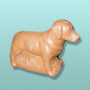 3D Chocolate Small Retriever Dog