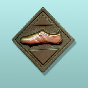 Chocolate Running Shoe Plaque