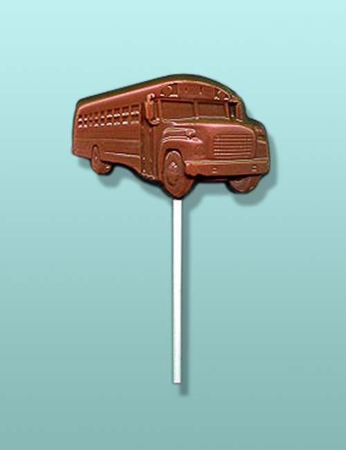 Chocolate School Bus I Lolly