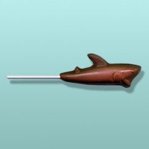 Chocolate Great White Shark Lolly I