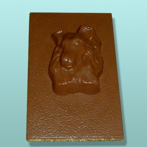 Chocolate Sheltie Dog Flat Plaque