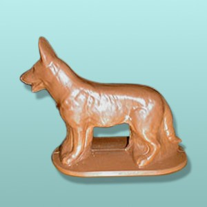 3D Chocolate German Shepherd