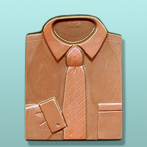 Chocolate Dress Shirt Tie Favor