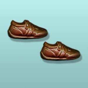 2 pc. Chocolate Running Shoes Favor