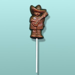Chocolate Spanish Singer Party Favor