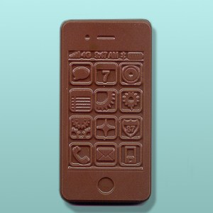 Chocolate Smart Phone Party Favor