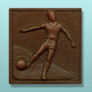 Chocolate Soccer Plaque I