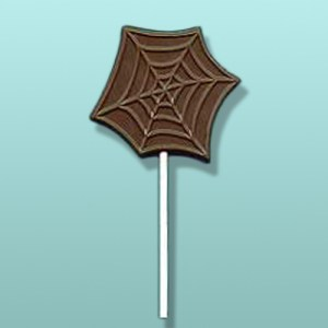 Chocolate Spider Web Party Favor