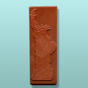 Chocolate Statue of Liberty Bar