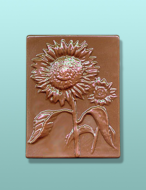 Chocolate Sunflower Gift Plaque