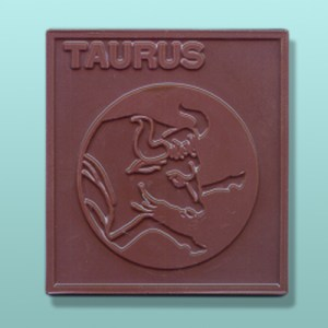 Chocolate Taurus Zodiac Plaque